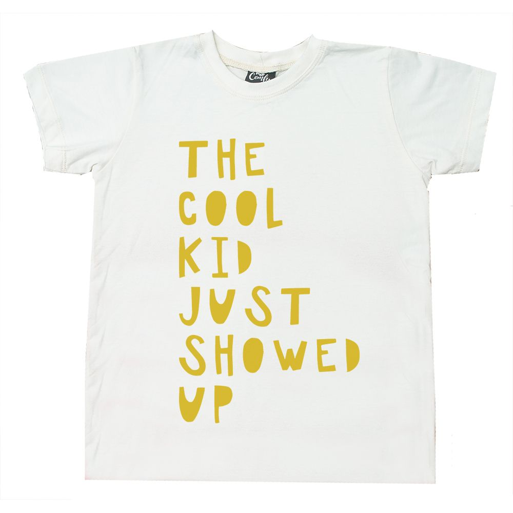 Camiseta Cool Kid Branca