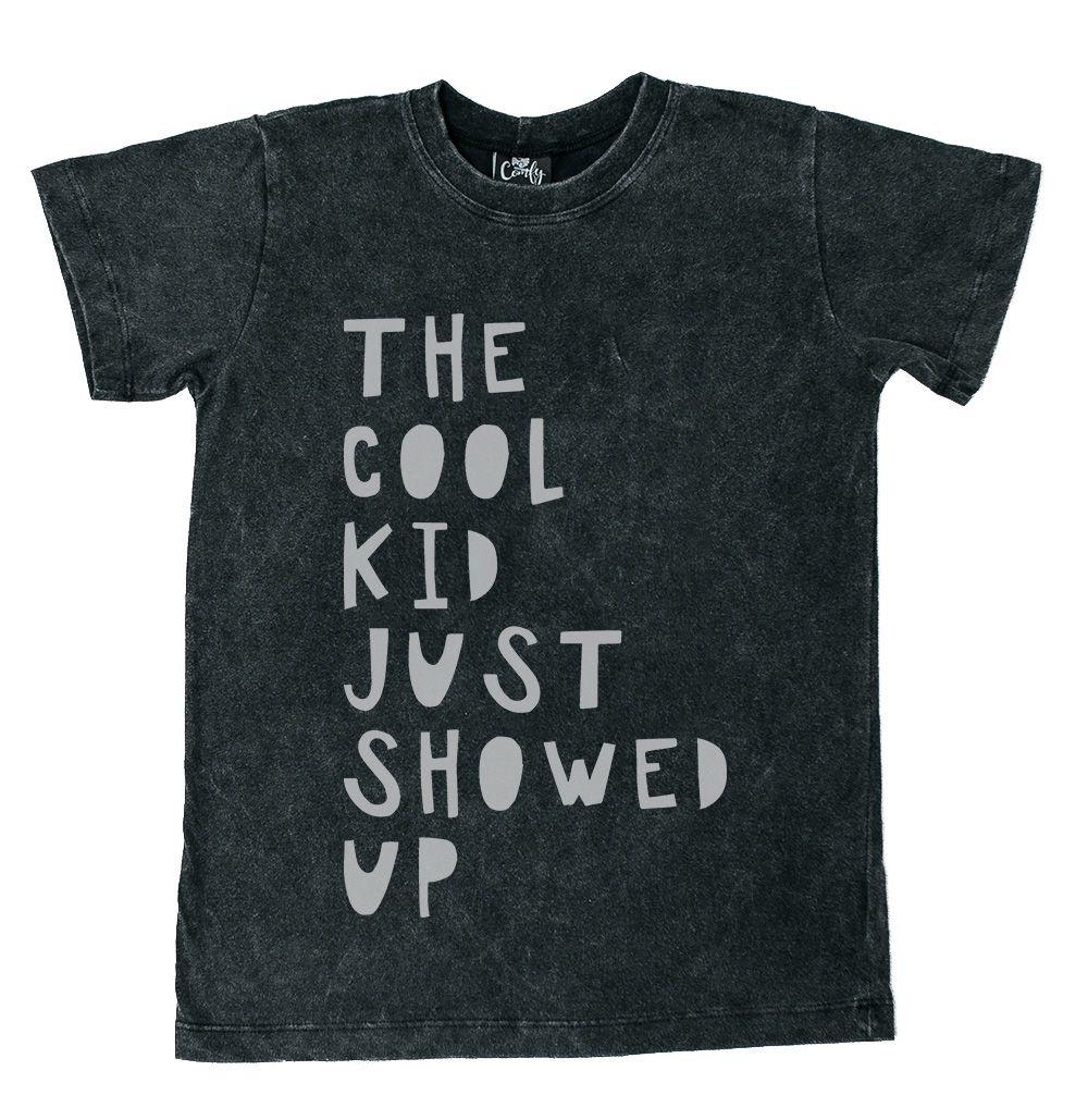 Camiseta Cool Kid Preto Estonado