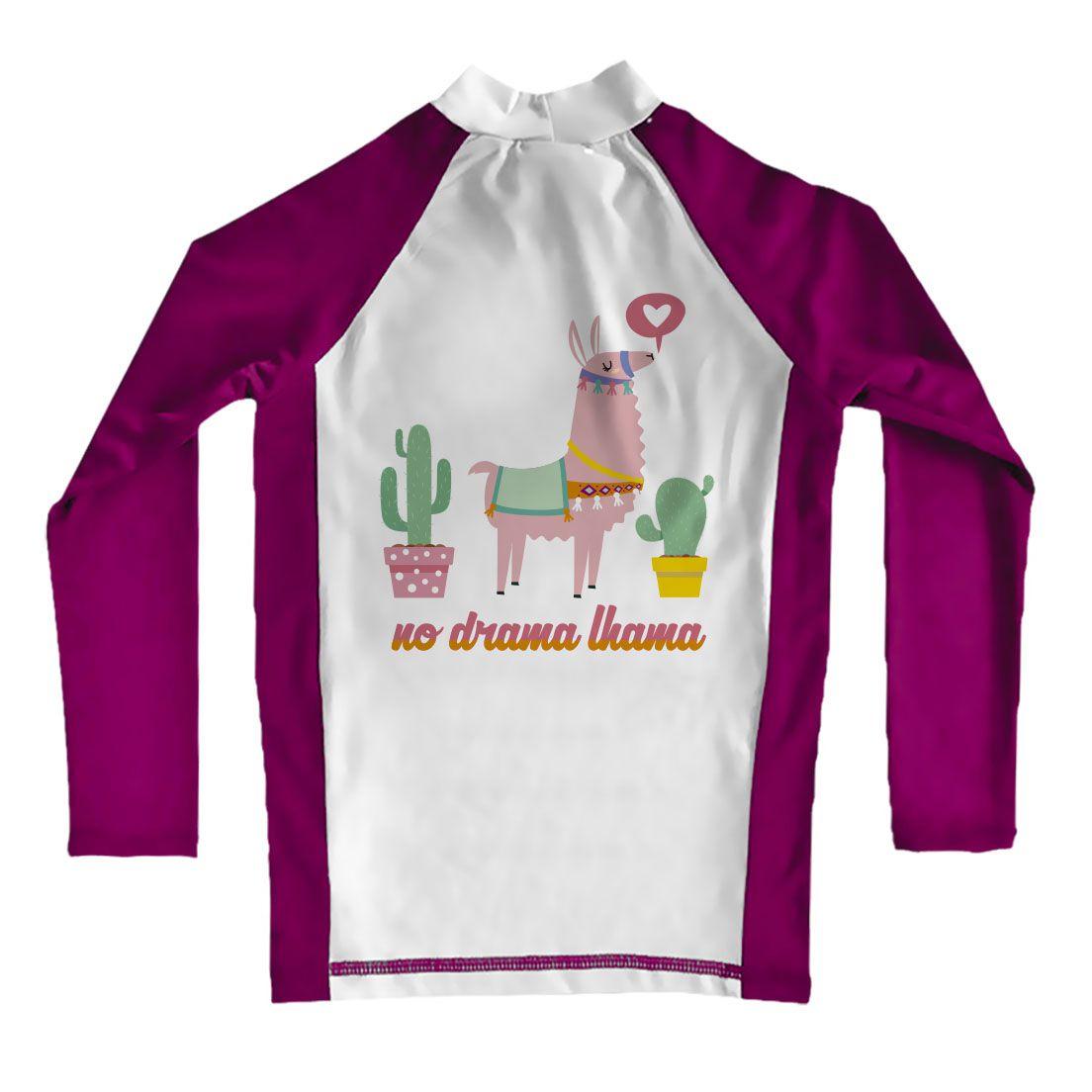 Camiseta de Lycra Comfy Lhama