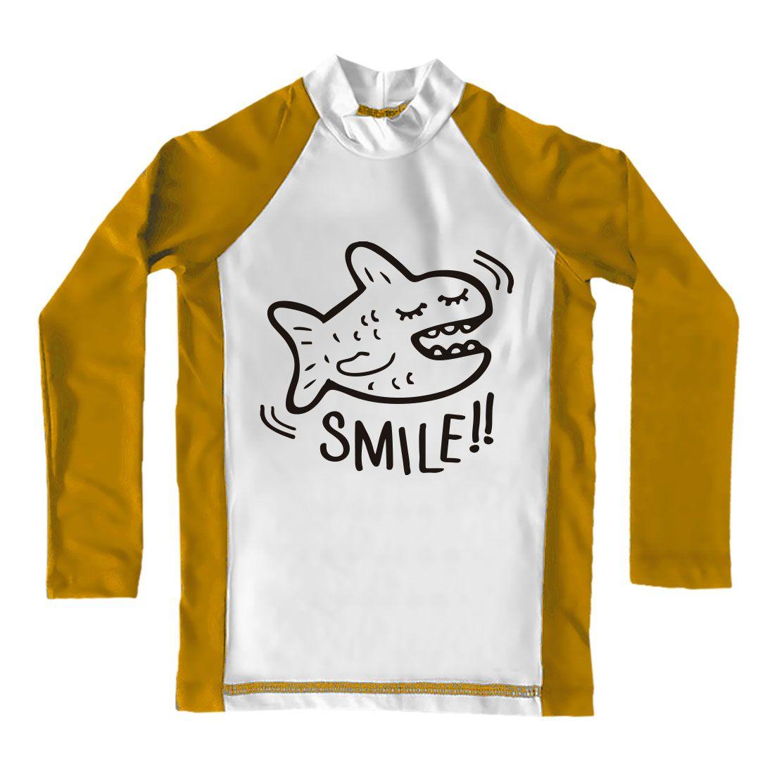 Camiseta de Lycra Comfy Smile