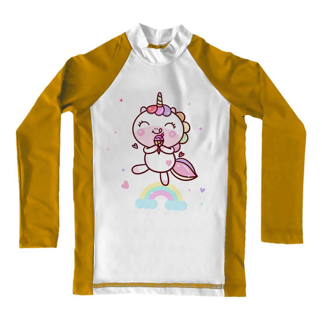 Camiseta de Lycra Comfy Unicórnio