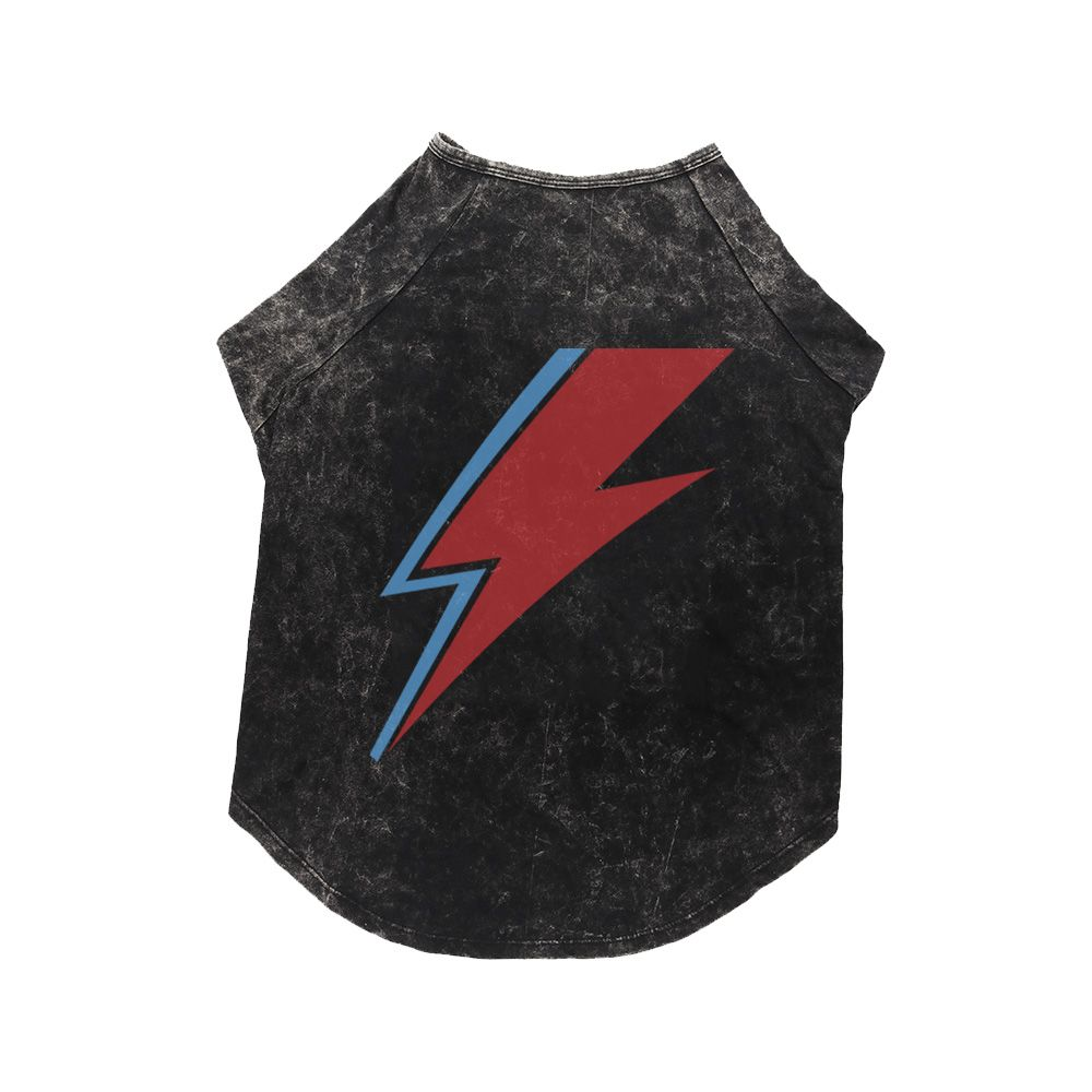 Camiseta Pet Estonada Raio Bowie