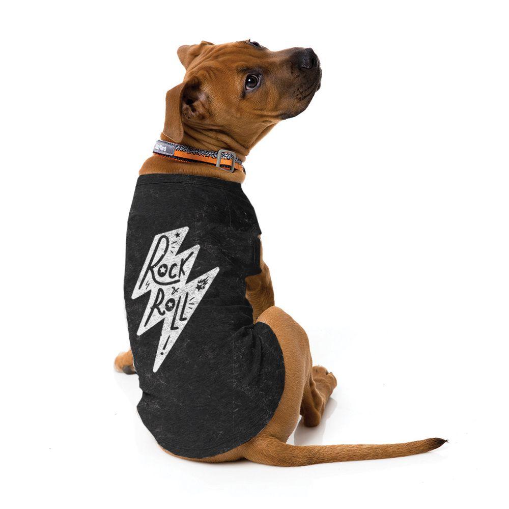 Camiseta Pet Estonada Raio Rock