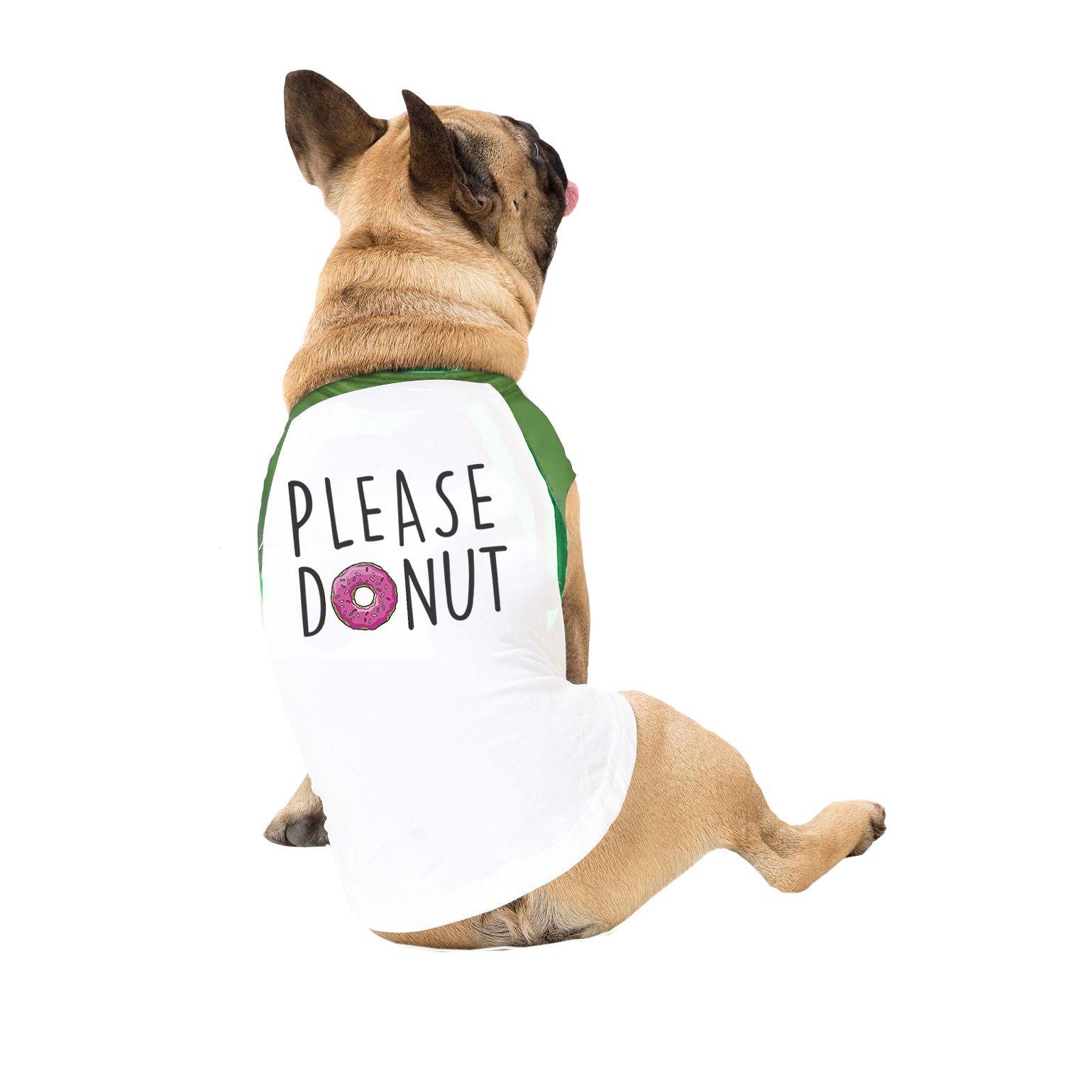 Camiseta Pet Please Donut