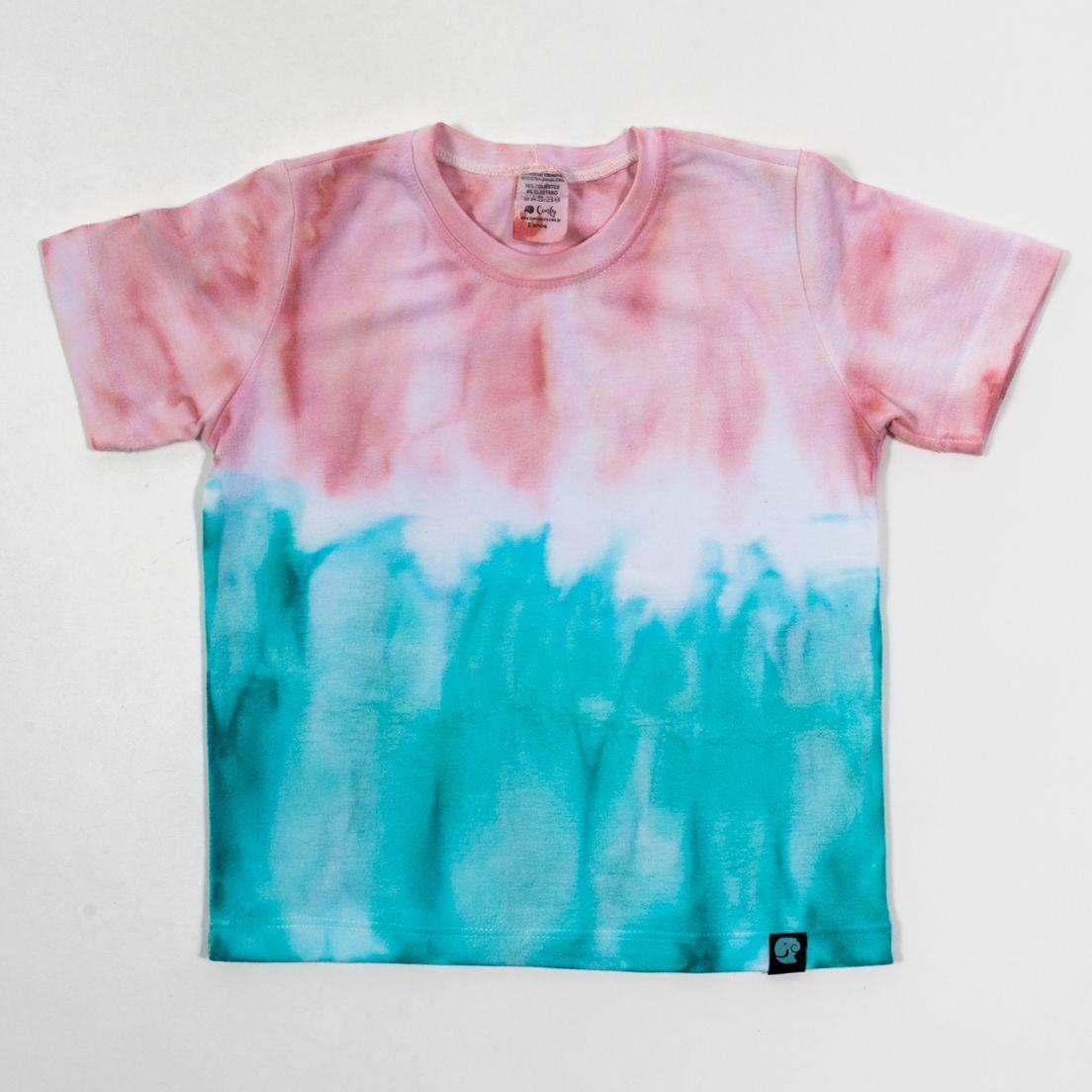 Camiseta Tie Dye Comfy