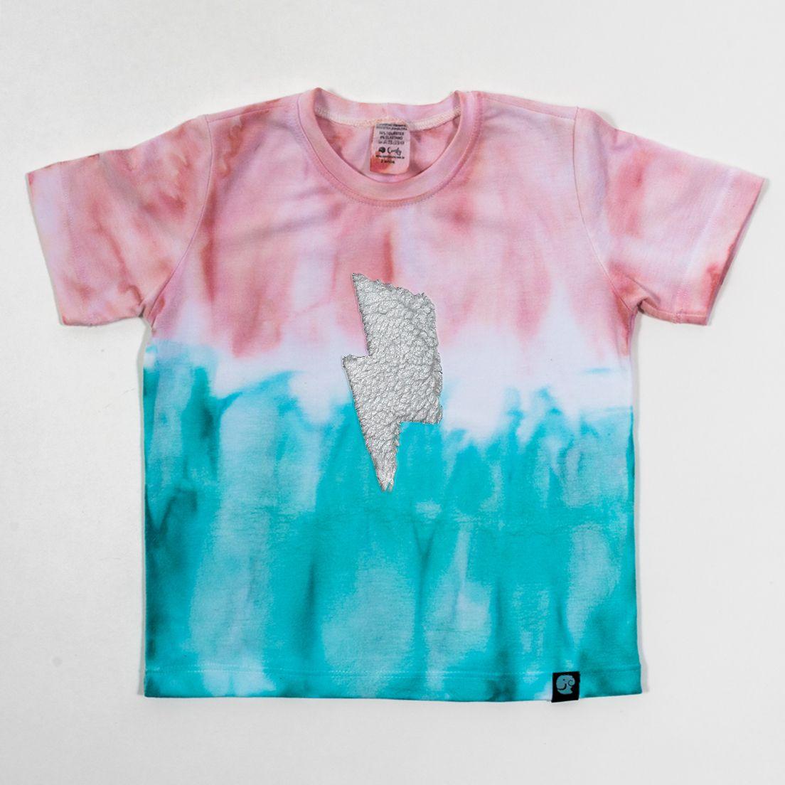 Camiseta Tie Dye Comfy Raio