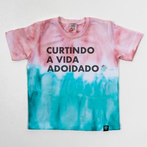 Camiseta Tie Dye Curtindo a Vida