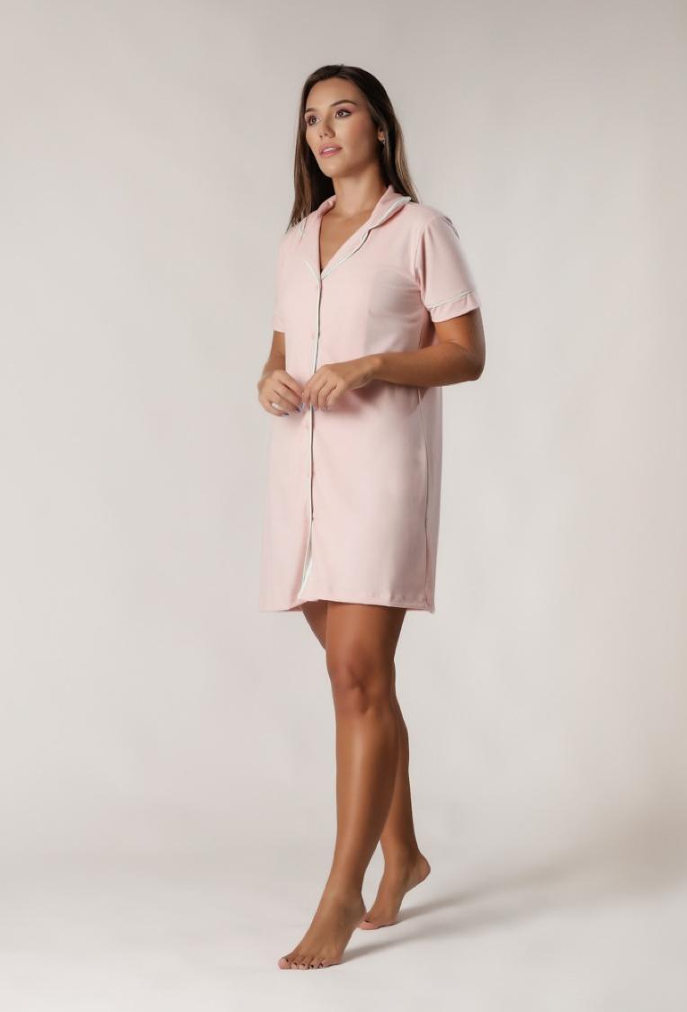 Camisola Feminina Comfy Rosa