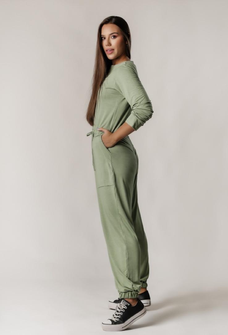 Macacão Comfy Boiler Suit Verde Oliva