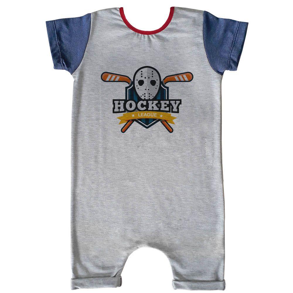 Macacão Curto Comfy Hockey