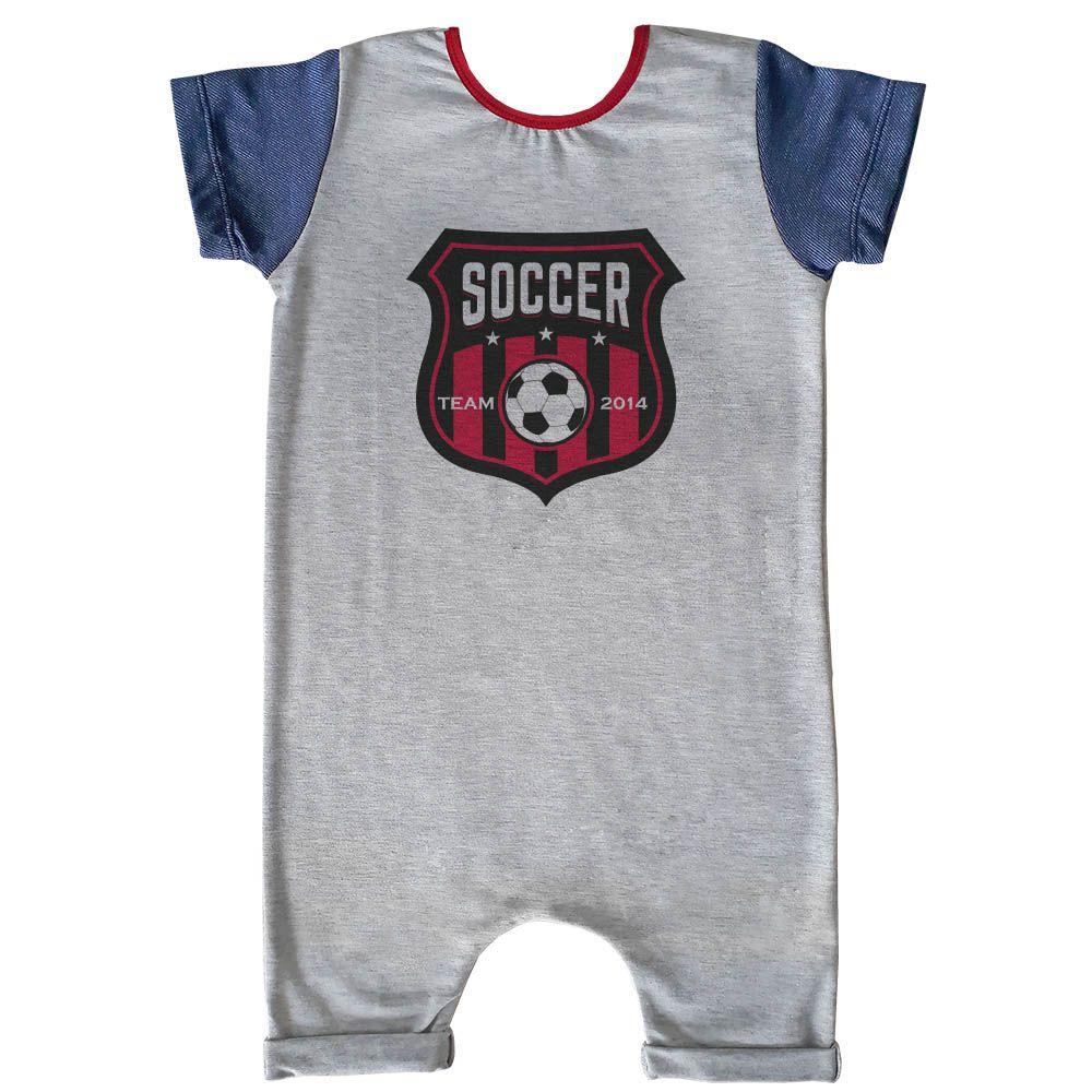 Macacão Curto Comfy Soccer