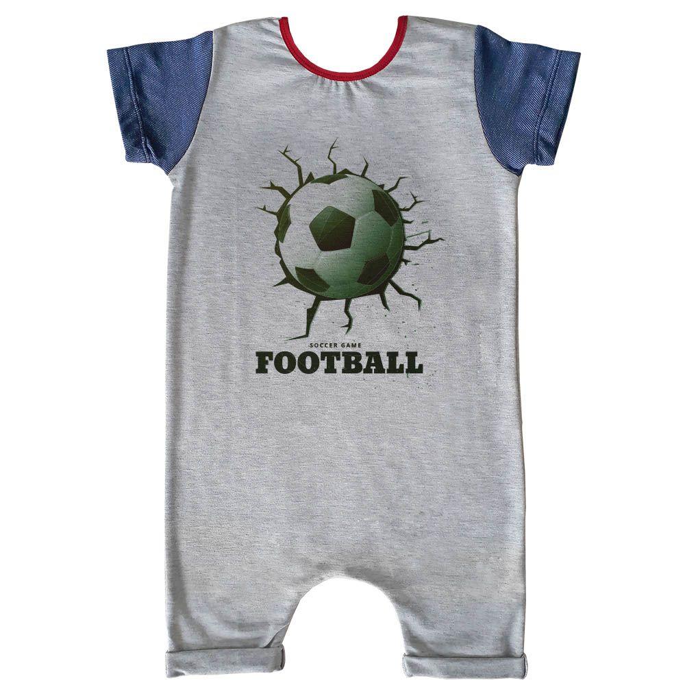 Macacão Curto Comfy Soccer Game