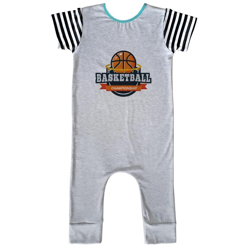 Macacão Longo Comfy Basketball