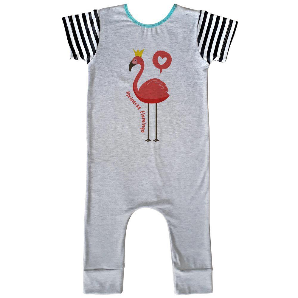 Macacão Longo Comfy Flamingo