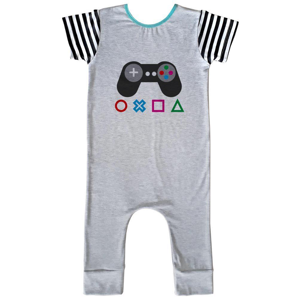 Macacão Longo Comfy Gamer