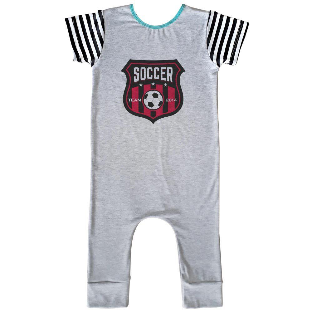 Macacão Longo Comfy Soccer
