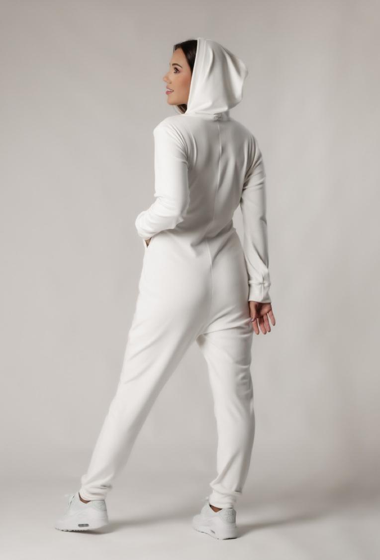 Macacão Plush Comfy Branco