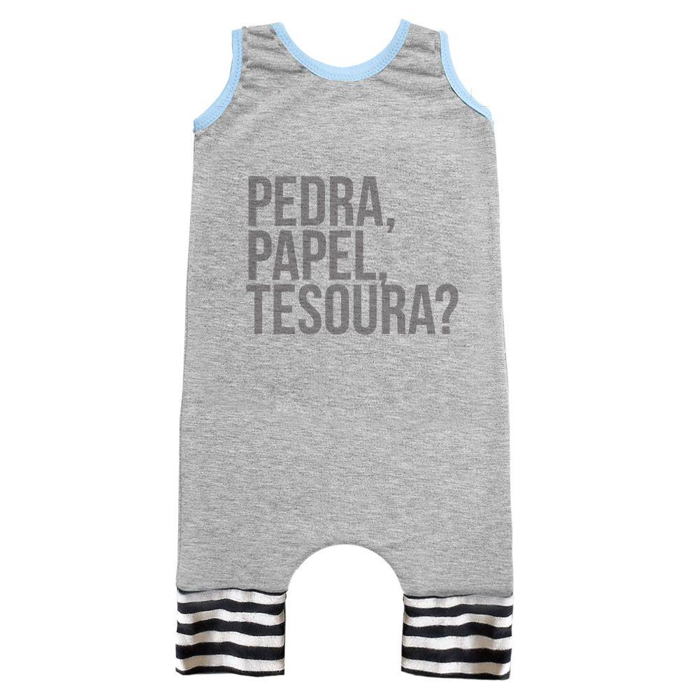 MACACÃO REGATA PEDRA, PAPEL TESOURA?