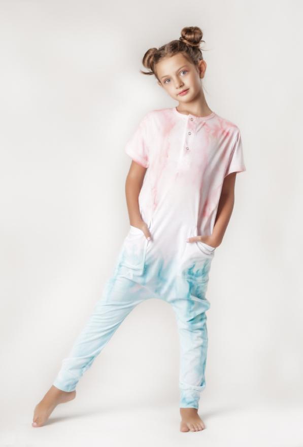 Macacão Teen Comfy Tie Dye