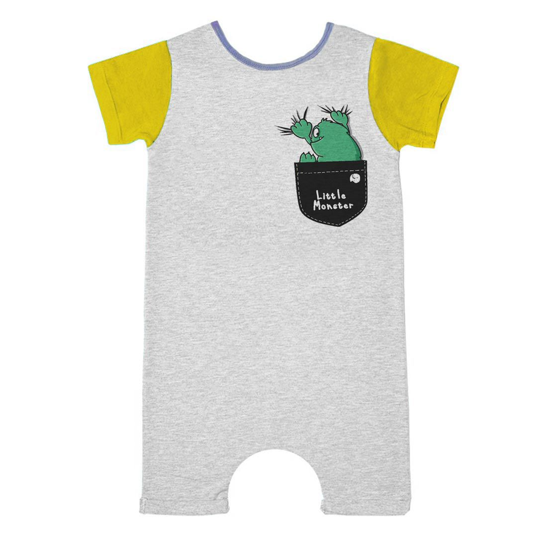 Pijama Comfy Bolso Little Monster
