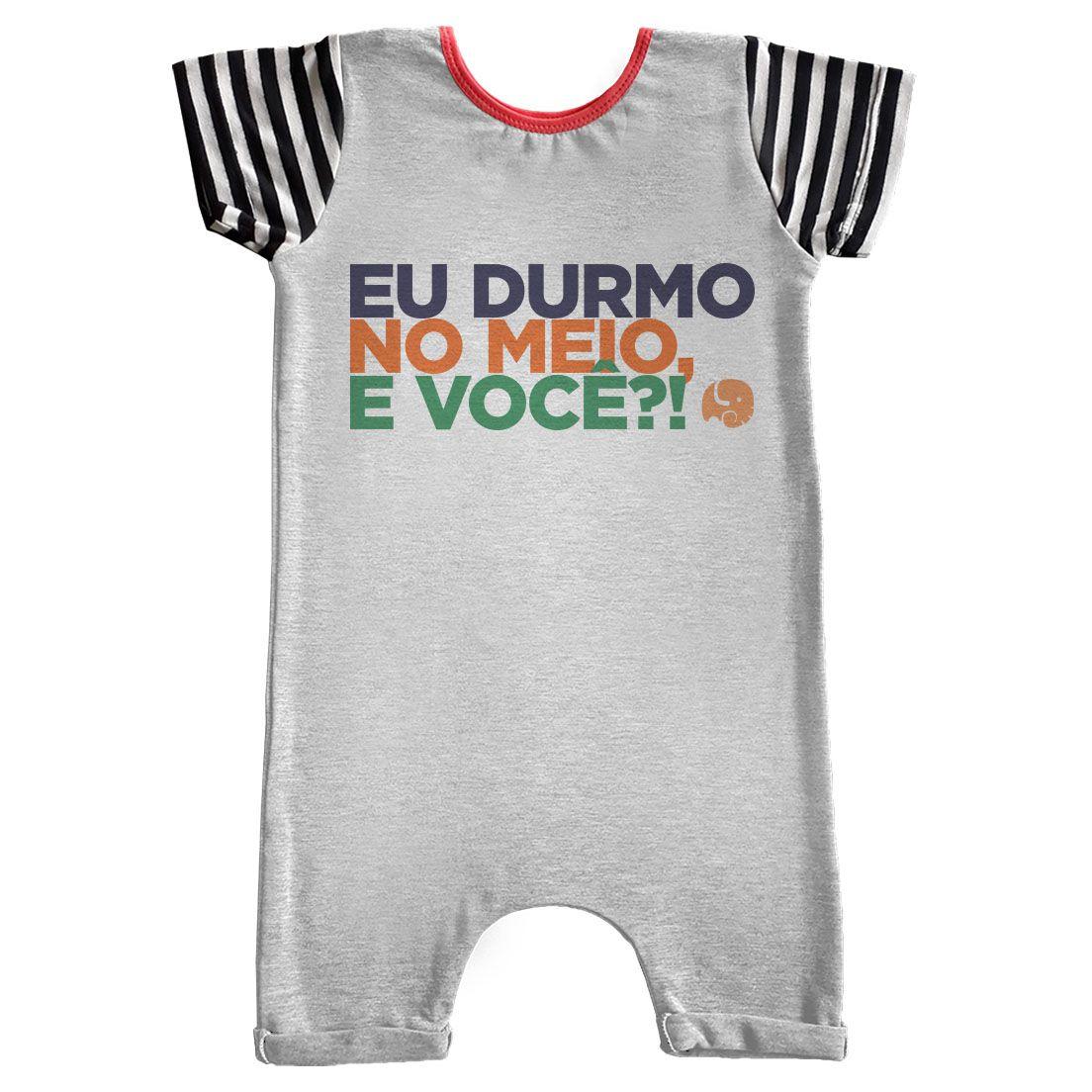 Pijama Comfy Durmo no Meio