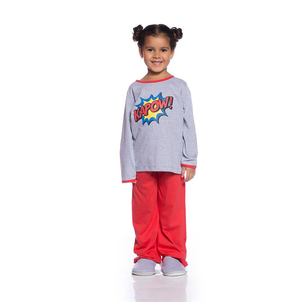 Pijama longo kapow