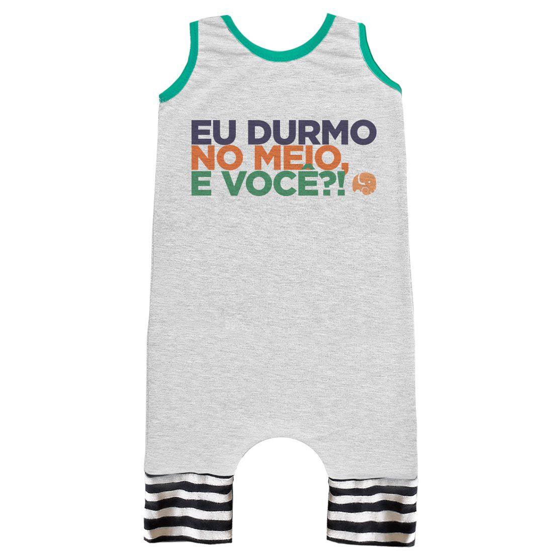 Pijama Regata Comfy Durmo no Meio