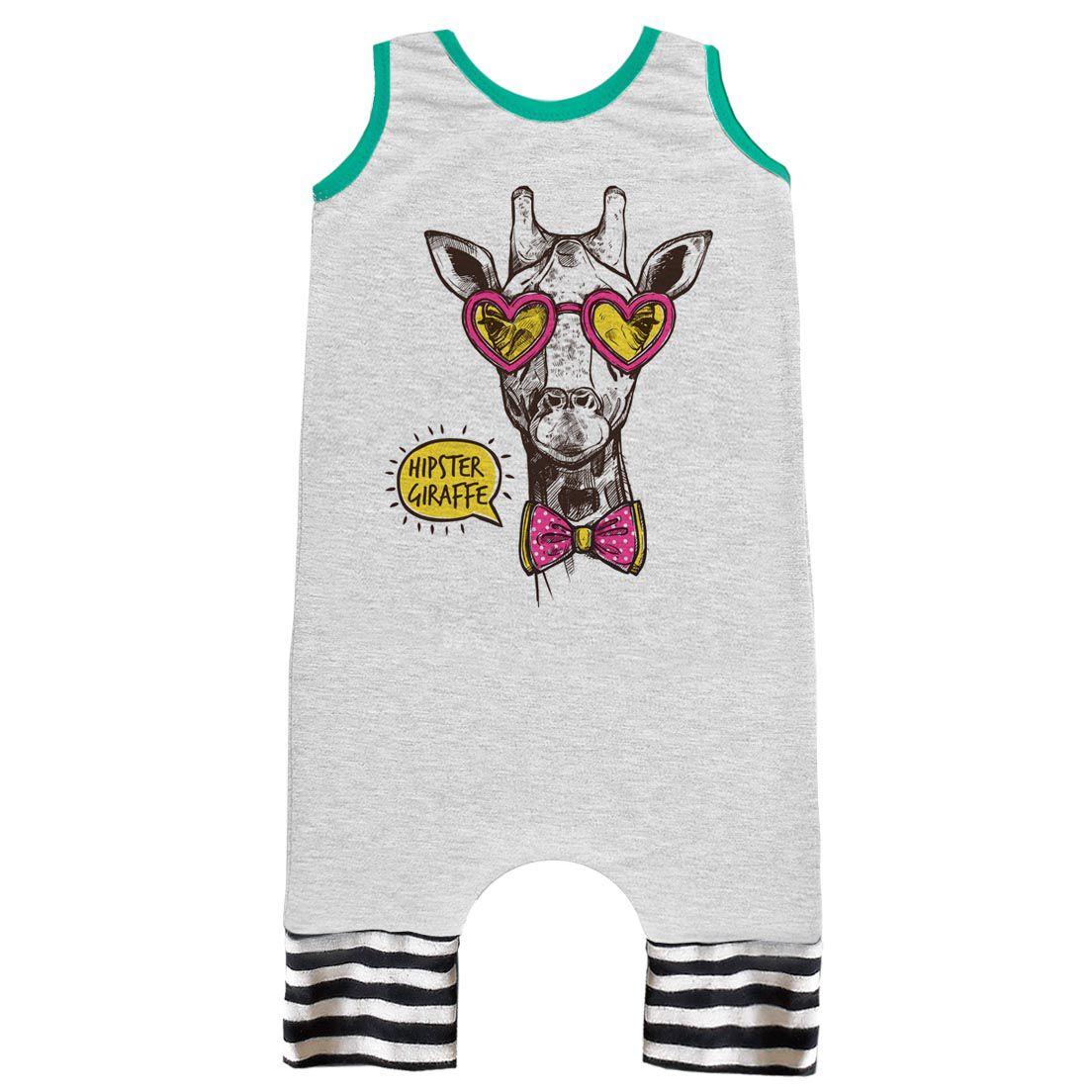 Pijama Regata Comfy Girafa