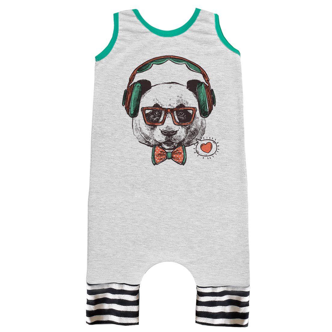 Pijama Regata Comfy Urso