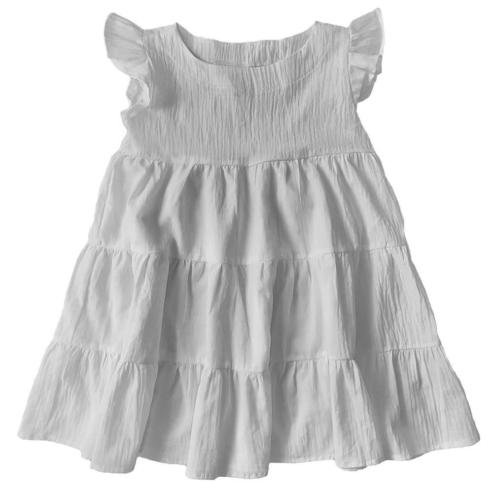 Vestido Algodão Branco