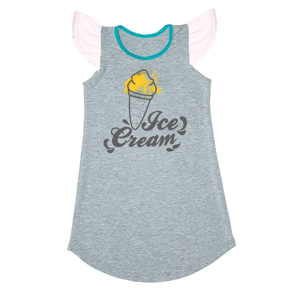 Vestido Ice Cream Cinza