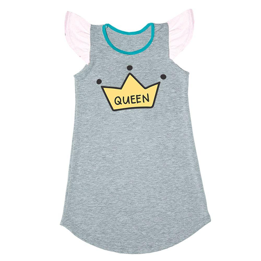 Vestido Queen Cinza