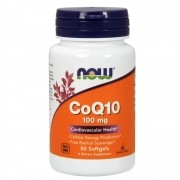 CoQ10 100mg 50 capsulas Now