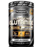 Glutamina Platinum Muscletech 300g  Sem Sabor