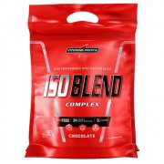 Iso Blend Whey Complex refil 907g Integralmedica sabor Chocolate