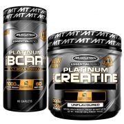 Kit Hipertrofia BCAA 60caps 811 e Creat 400g Muscletech