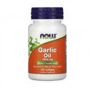 Óleo de Alho Garlic Oil 1500mg 100 cápsulas Now Foods