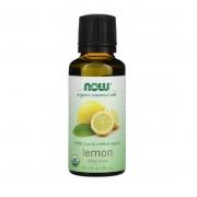 Óleo Essencial Orgânico de Limão 30ml Now