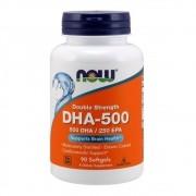 Ômega DHA-500  EPA -250 90 cápsulas Now