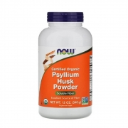 Psyllium Husk Powder Fibra Solúvel com 340g da Now