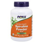 Spirulina Orgânica Powder 113g  - Now Foods