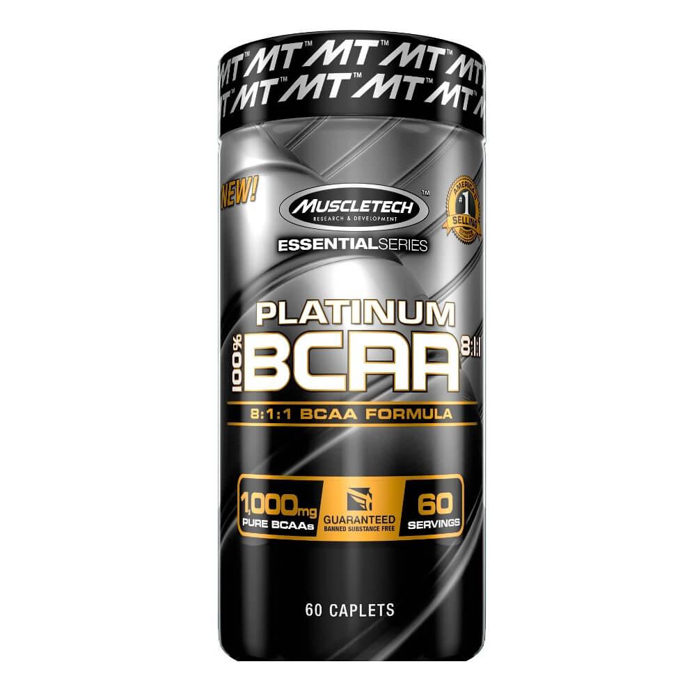 BCAA 811 Muscletech 60 cápsulas