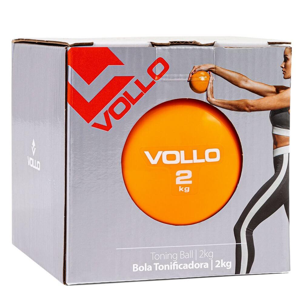 Bola Tonificadora Pilates Fisioterapia 2 Kg Vollo
