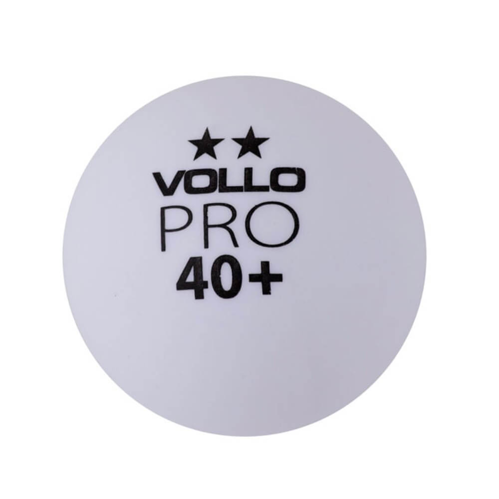Bolas de Ping Pong Tenis de Mesa Vollo Branca VT611