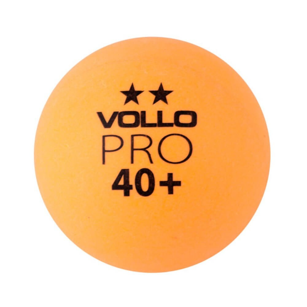 Bolas de Ping Pong Tenis de mesa Vollo Laranja com 6 unidades VT612