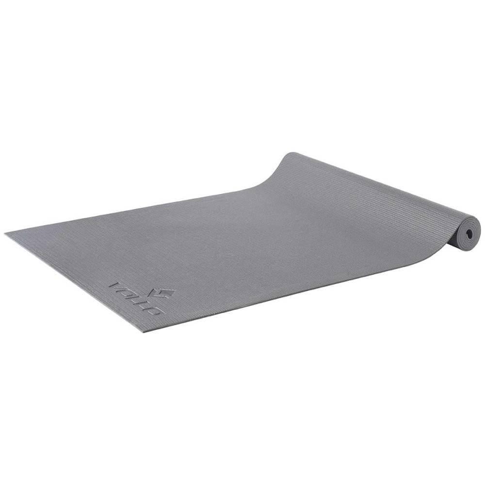 Colchonete de Yoga com alça 1,73 x 0,61cm Cinza Vollo VP1038