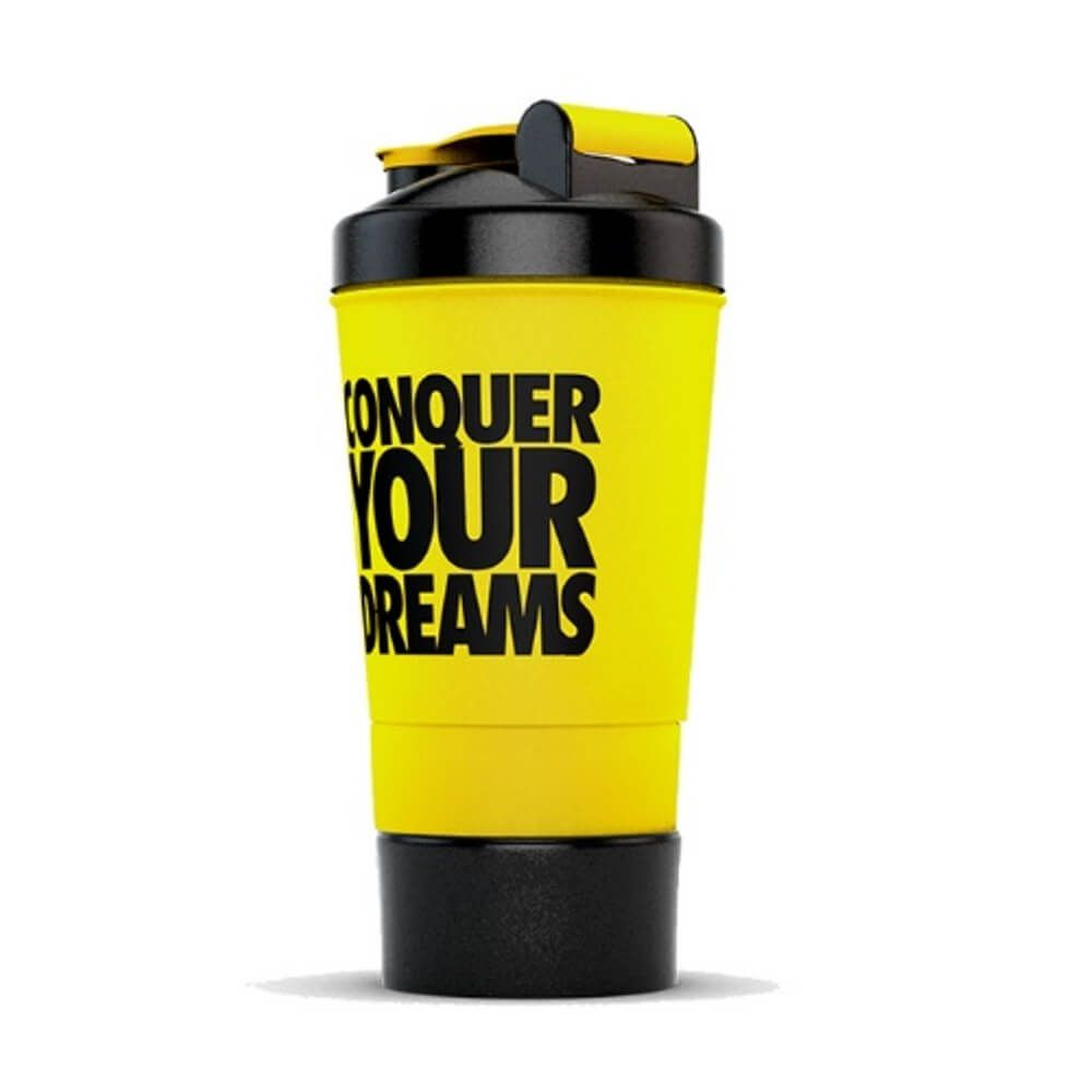 Coqueteleira Iridium Conquer Your Dreams - 500ML - amarelo