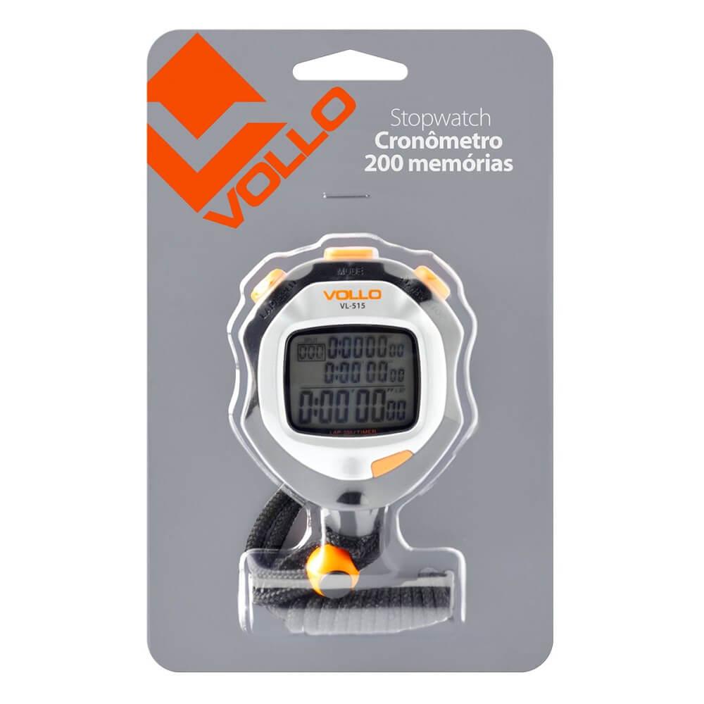 Cronômetro Com 200 Memórias Vl515 Vollo