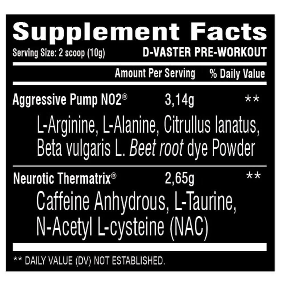 D Vaster Power Supplements 300g