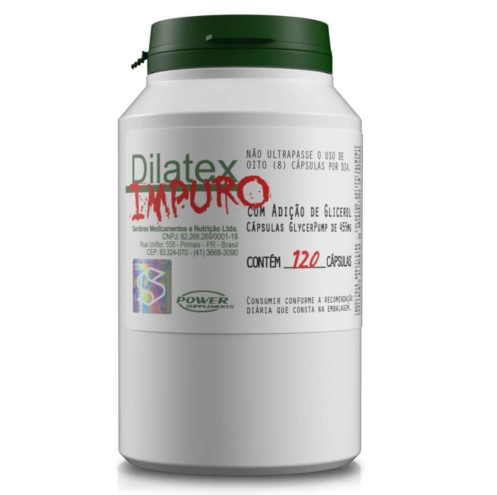 Dilatex Impuro 120 cápsulas  Power Supplements